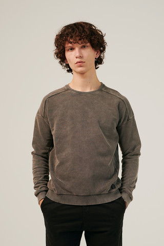 VAFLA SHOULDER CREWNECK