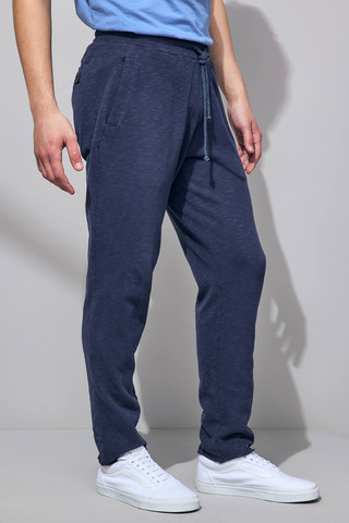 HEAVY SLUB RAW CUT HEM JOGGER