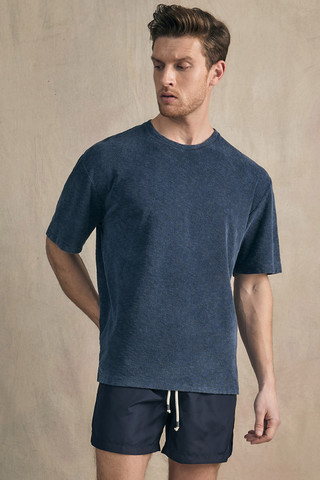 TERRY TOWELING OVERSIZED TEE